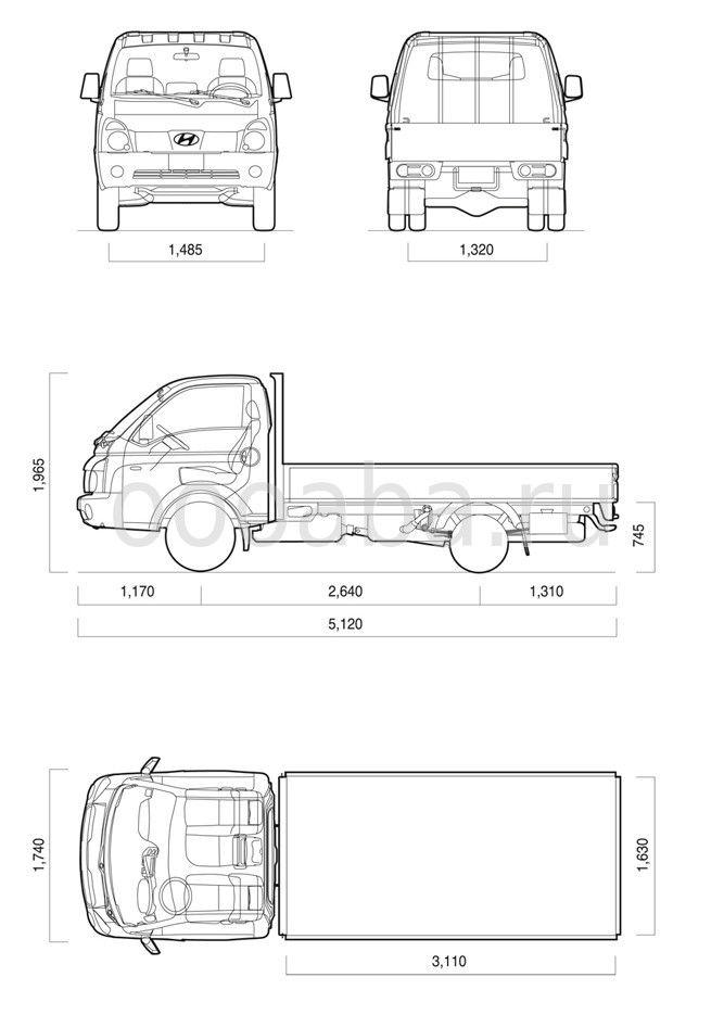 2 Схема Hyundai Porter II